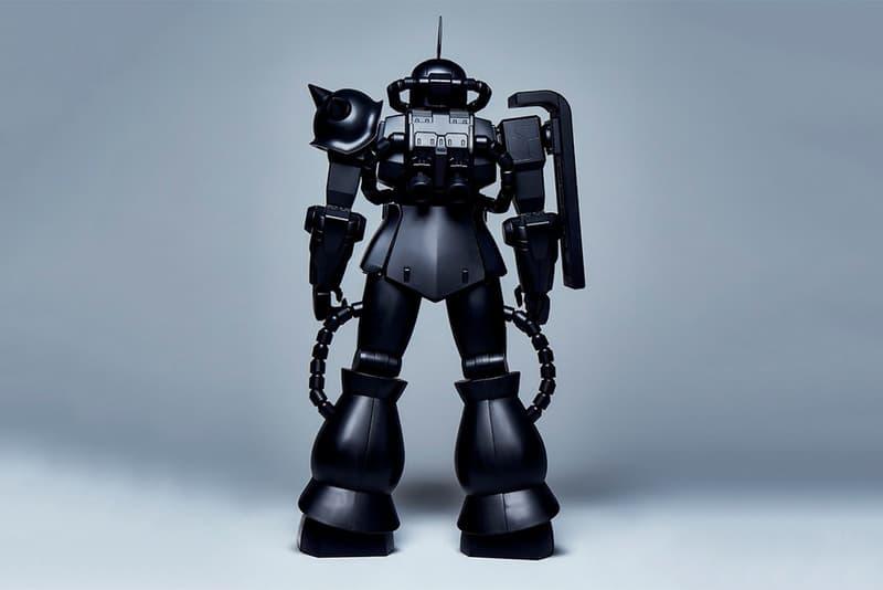 mastermind JAPAN x STRICT-G のコラボ第4弾はスカルを纏った漆黒のシャアザク 初の旗艦店『MASTERMIND TOKYO』ではシャアのパーソナルマークとスカルロゴを配したアパレルコレクションを展開