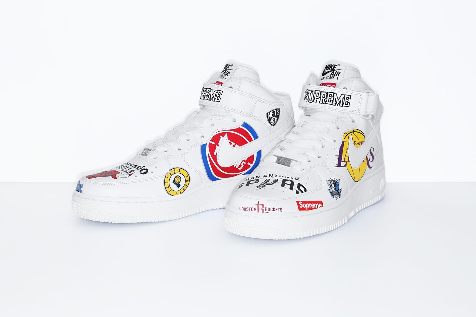 Supreme x Nike x NBA のルックブック&アイテ