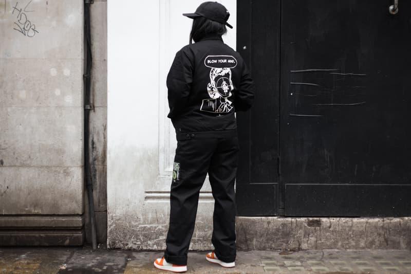 ロンドンにおける Supreme x UNDERCOVER x Public Enemy 最新コラボローンチ日の様子をフォトレポート お国柄が垣間見えるロンドンヘッズたちの指名買いアイテムをチェック UNDERCOVER アンダーカバー ロングアイランド 社会派ヒップホップユニット Public Enemy パブリック・エナミー Supreme シュプリーム 3rdアルバム Fear of a Black Planet ダウンジャケット 開襟シャツ Dr. Martens ドクターマーチン 3ホールシューズ Nike ナイキ adidas アディダス トラックジャケット スウェットパーカ シーズナブル ステッカー ポスター HYPEBEAST ハイプビースト