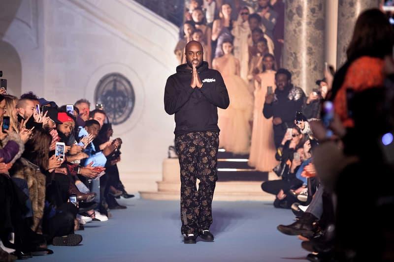 Virgil Abloh Louis Vuittion Menswear Designer Fashion Show