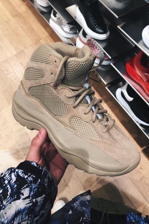 YEEZY Season 6 の新作ブーツがブランドからの発表なしにロンドンの百貨店で発売中?