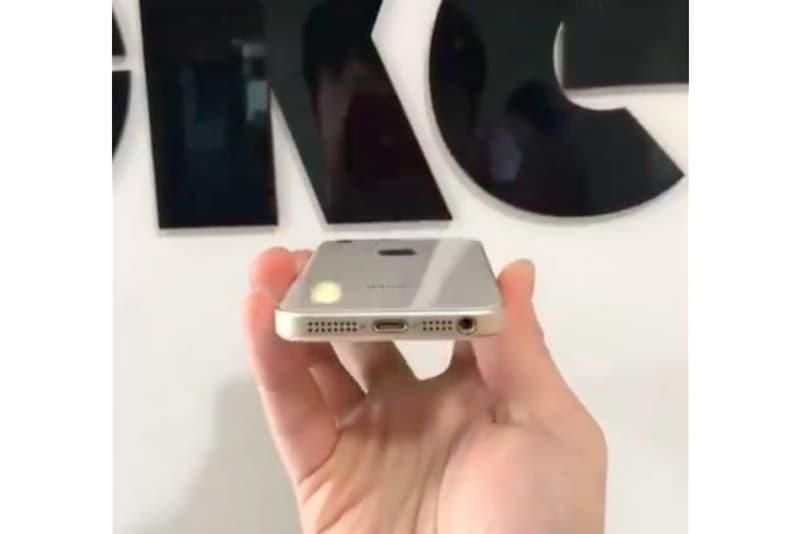 iPhone SE 2 の実機の姿を捉えた映像が再び流出か アップル apple HYPBEAST ハイプビースト