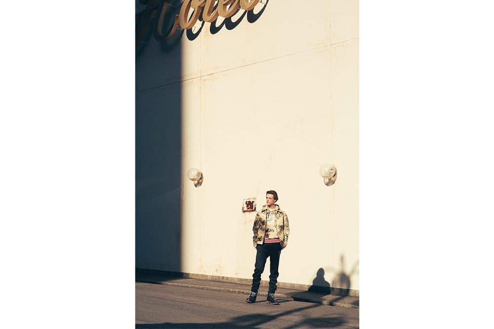 Billionaire Boys Club より巧みな色柄使いが目を引く2018年春夏ルックブックが到着 ストリートとミリタリー要素を融合させたインパクト抜群の最新アイテムが目白押し Pharrell Williams ファレル・ウィリアムス NIGO® ニゴー Billionaire Boys Club ビリオネア ボーイズ クラブ BBC BRUTUS 大手セレクトショップ フォトグラファー 荒井俊哉 スタイリスト 荒木大輔 タイガーカモフラージュ模様 グラフィックジャケット パッチワークポロ 宇宙飛行士ロゴ フーディ ジャージーパンツ New Era ニューエラ 59FIFTY オンラインストア HYPBEAST ハイプビースト