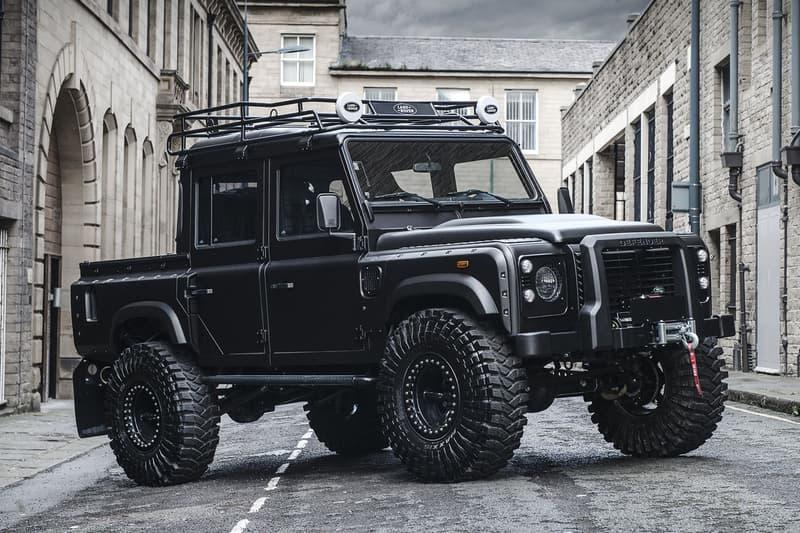 英国発の気鋭カスタムビルダーが玄人も唸る Land Rover Defender を発表 内装には「Harris Tweed」社製のツイードと高級レザーのコンビ素材を採用 Mercedes-Benz メルセデス・ベンツ Rolls-Royce ロールス・ロイス Ferrari フェラーリ ヴィンテージ EV 電気自動車 カスタムビルダー Chelsea Truck Co. チェルシー・トラック・カンパニー Maxxis マキシス Land Rover Defender ランドローバー ディフェンダー ビッグフットモデル Harris Tweed ハリスツイード HYPEBEAST ハイプビースト