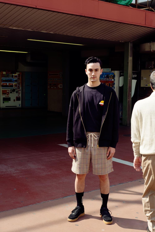 ユース世代に古き良き80年代の魅力を伝える DRÔLE DE MONSIEUR 2018年春夏カプセルコレクション 日本で撮影されたルックブックではヴィンテージを彷彿させるアイコニックなサンセットロゴをフィーチャー