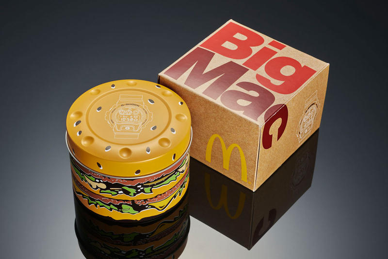 G-SHOCK x McDonald's の異色タッグよりビッグマック生誕50周年記念コラボウォッチが登場 マクドナルド HYPEBEAST ハイプビースト