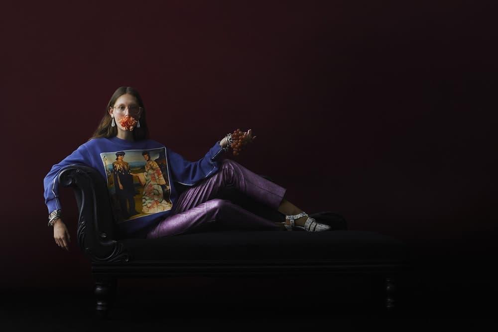 Gucci がスペイン人画家イグナシ・モンレアルを招聘した数量限定カプセルコレクションを発表 アレッサンドロ・ミケーレも認めたシュールでミステリアスなアート作品をそのままプリント Gucci グッチ ミューラルアート 壁画 スペイン人アーティスト Ignasi Monreal イグナシ・モンレアル Alessandro Michele アレッサンドロ・ミケーレ #GucciHallucination Tシャツ 200枚 スウェットパーカ 100枚 ナンバリング イーストロンドン オンラインストア HYPEBEAST ハイプビースト