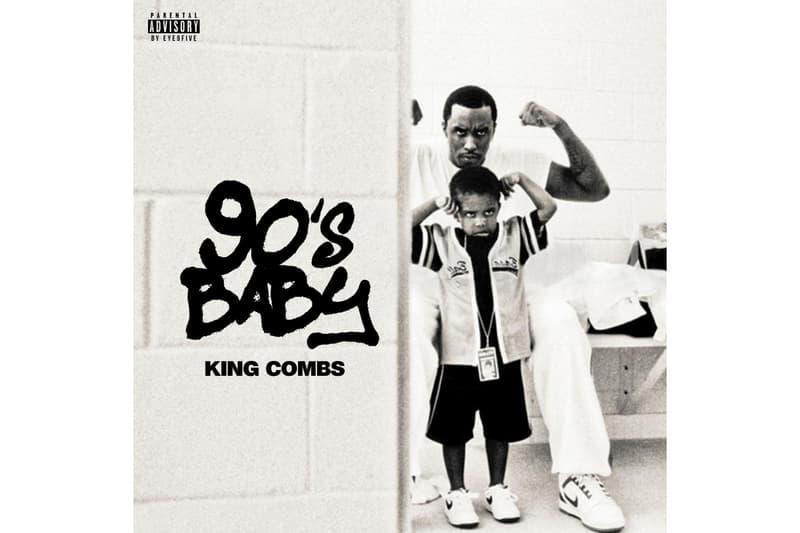 Diddy の息子 King Combs が『90's Baby』と題した新作ミックステープを発表  ディディ キング・コムズ ショーン コムズ
