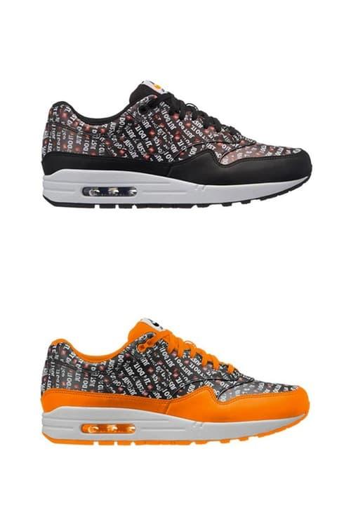 """Nike のキャッチコピー""""JUST DO IT"""" の生誕30周年を祝う記念パックに特別仕様の Air Max 1 が2種類追加"""