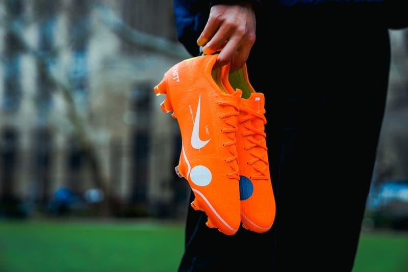 """""""The Ten""""に続く異端のサッカースパイク Nike Mercurial Vapor 360 x Virgil Abloh にクローズアップ"""