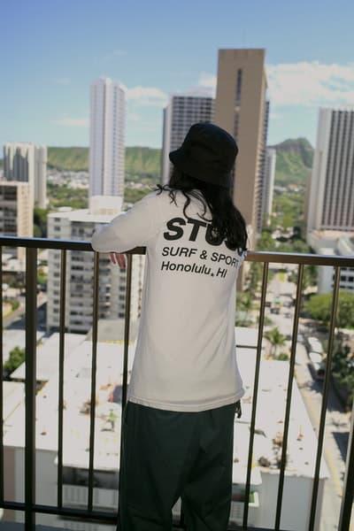 STÜSSY よりハワイの新チャプターオープンを記念した限定スペシャルアイテムの数々が登場