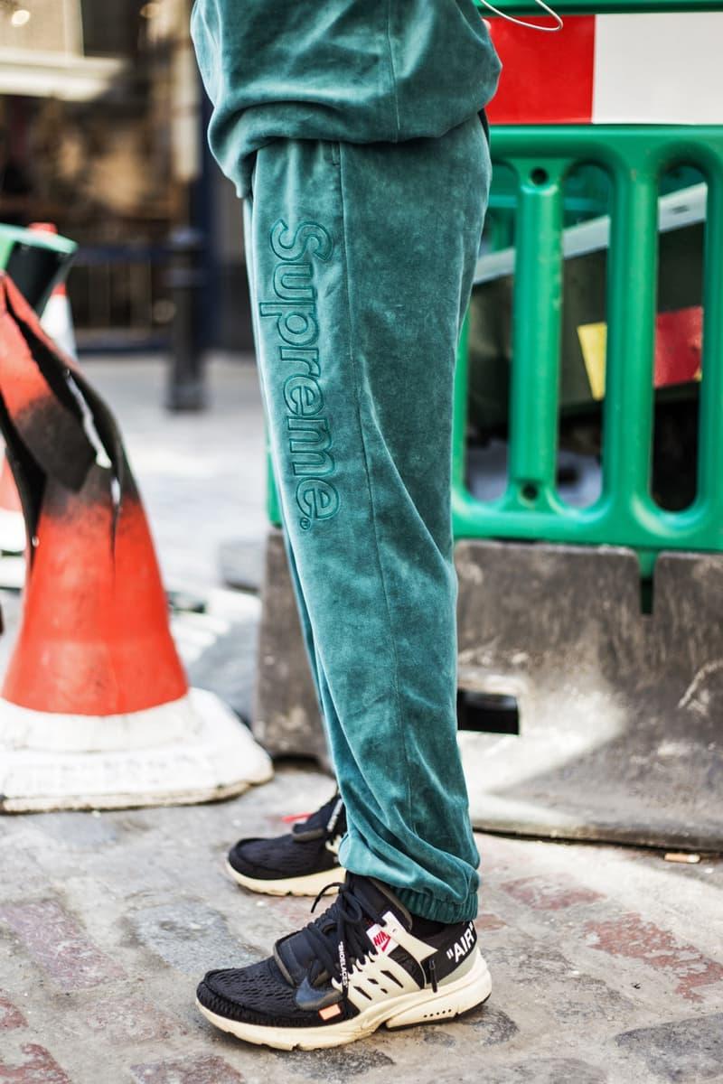 Supreme x Lacoste が登場した #WEEK9 のロンドンローンチをレポート 国内ローンチに備えてコラボアイテムを纏った〈Supreme〉ファンたちのストリートスナップをチェックせよ