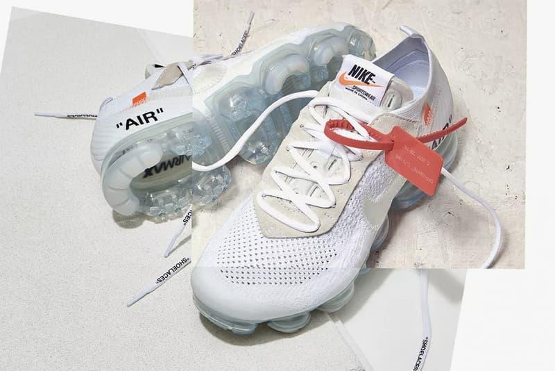 ヴァージル・アブロー x Nike による新色 Air VaporMax の発売情報に関する噂が浮上