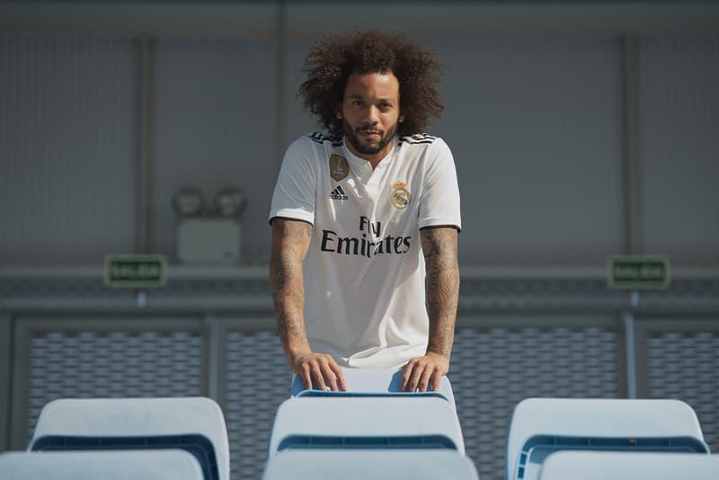 前人未到の偉業に湧くレアル・マドリードが新シーズンのホーム&アウェイユニフォームを発表 移籍話が激化するクリスティアーノ・ロナウドの姿は見当たらず…… チャンピオンズリーグ CL レアル・マドリード Cristiano Ronaldo クリスティアーノ・ロナウド 2018/19シーズン Gareth Bale ガレス・ベイル Marcelo マルセロ Sergio Ramos セルヒオ・ラモス Karim Benzema カリム・ベンゼマ 三本線 スリーストライプス オンラインストア HYPEBEAST ハイプビースト