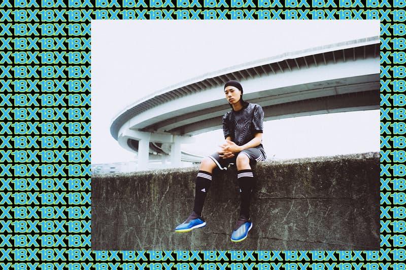adidas Football X18 のストリートモデルが主役を飾る HYPEBEAST のオリジナルルックブック W杯を目前にフルモデルチェンジを遂げた最高級のスプリントモデルをオフコートに落とし込め