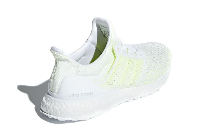 """adidas がシティランナーに贈る UltraBOOST Clima より新色 """"Solar Yellow"""" を発表 夏にぴったりのフレッシュな仕上がりのランニングパートナー 街を駆けぬけるランナーたちに〈adidas(アディダス)〉が贈るUltraBOOST Climaより、白を基調とした爽やかなニューカラーがドロップするようだ。本モデルは、蹴り出しから着地までのストライドをバネのような反発力でサポートするBoostと優れたグリップ力を発揮するContinental™ラバーを装備し、皮膚のように吸い付くプライムニットアッパーが軽く、快適なフィット感と通気性を向上。こちらのカラーウェイは全体的にクリーンな印象を与えるものの、アンダーレイの""""Solar Yellow""""がアクセントをプラスしており、夏のロードワークにぴったりな爽やかな仕上がりとなっている。  UltraBOOST Clima """"Solar Yellow""""は、6月14日(現地時間)よりスリーストライプスのブランドの一部取り扱い店舗にデリバリーされる見込みなので、キーアカウントからのアナウンスをお見逃しなく。  同じく〈adidas〉より来月のリリースが有力視されている新作スニーカー、Rascal(ラスカル)の情報もチェックしてみてはいかがだろうか。 HYPEBEAST"""