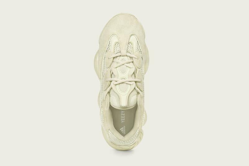 """YEEZY 500 の新色 """"Supermoon Yellow"""" の国内取扱店舗&発売日が決定 異素材のコントラストでどこか幻想的な雰囲気さえ漂う一足が遂に市場へ スニーカーシーンに絶えず話題を振りまく〈adidas(アディダス)〉とKanye West(カニエ・ウェスト)のコラボレートライン""""adidas + KANYE WEST""""より、YEEZY 500の新色""""Supermoon Yellow""""に関する国内取扱店舗&発売日の情報が到着した。牛革のスエード、高品質なレザー、そしてメッシュと3種類の異素材でアッパーを構成した本作は、ダイカットのEVAミッドソールと高摩耗性のラバーアウトソールを搭載し、adiPRENE+ Cushioningが優れた衝撃吸収性と反発力を提供。さらにシューレースのアイレットにはリフレクターを搭載し、 暗所での可視性を確保することにも成功している。  YEEZY 500 """"Supermoon Yellow""""の国内発売日は6月9日(土)で、価格は25,000円(税抜)。取扱店舗一覧は、以下のリストをチェック。  ちなみに、'Yeは現在〈YEEZY(イージー)〉と自身のプロモーションを担当する広報役を探しているようだが、彼が設けた募集要項はご存知?  YEEZY 500 """"Supermoon Yellow"""" 取扱店舗 アディダス オリジナルス フラッグシップ ストア トウキョウ アディダス オンラインショップ http://shop.adidas.jp/originals/yeezy/  mita sneakers Styles 代官山 伊勢丹新宿店 Undefeated Tokyo United Arrows & Sons GR8 BEAMS 原宿 BILLY'S ENT The HEARTBREAKERS atmos Blue Omotesando HYPEBEAST"""