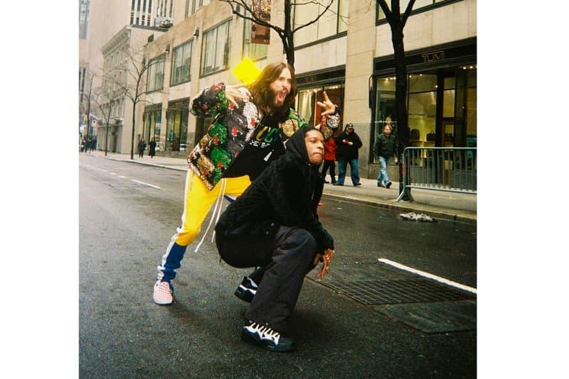 A$AP Rocky が Under Armour との最新コラボモデルらしき1足を公開 カメレオン俳優で知られるジャレッド・レトと仲睦まじい写真のなかにその話題の1足が……  Moby モービー A$AP Forever A$AP Rocky エイサップ・ロッキー Under Armour アンダーアーマー コラボフットウェア アウトサイダー The Outsider スーサイド・スクワッド Jared Leto ジャレッド・レト ダッドスニーカー HYPEBEAST ハイプビースト