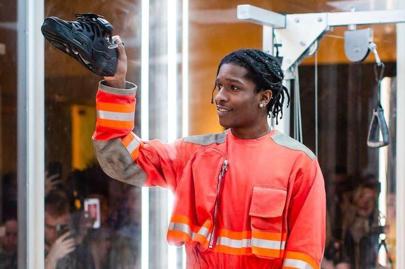 A$AP Rocky が遂に Under Armour とのコラボフットウェアをお披露目 エイサップ・ロッキー アンダーアーマー