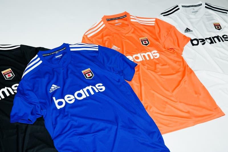 BEAMS と adidas Football のタッグよりサッカームードを盛り上げるスペシャルユニフォームが登場 ビームス アディダス HYPEBEAST ハイプビースト