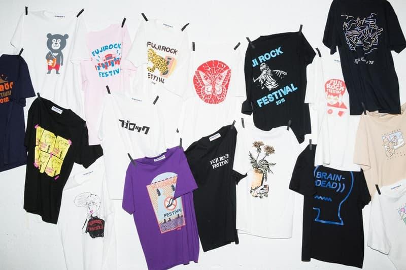 verdy ら BRAIN DEAD を招聘した FUJI ROCK FESTIVAL'18 のスペシャルTシャツが BEAMS より登場 フジロック Tシャツ ビームス HYPEBEAST ハイプビースト