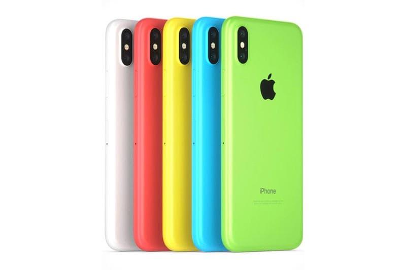 年内解禁が予想される新型 iPhone の廉価モデルは複数のカラー展開が有力? 有機ELディスプレイモデルとの差別化として、シングルカメラ仕様で3Dタッチ機能も廃止との推測も…… Apple アップル iPhone 6.1インチ液晶ディスプレイ ブルー イエロー ピンク ポップな色合い 有機ELディスプレイ 800ドル 約7万6,000円 8万7,000円 3Dタッチ シングルカメラ RAM 3GB HYPEBEAST ハイプビースト