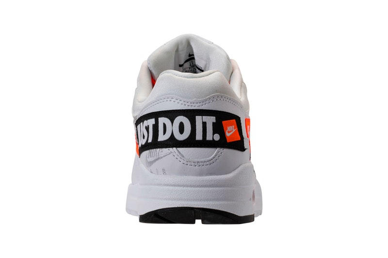 """Nike Air Max 1 """"Just Do It"""" の細部を撮影したクリーンなビジュアルを入手 〈Nike〉を象徴する""""Just Do It""""キャンペーンの30周年記念モデル"""