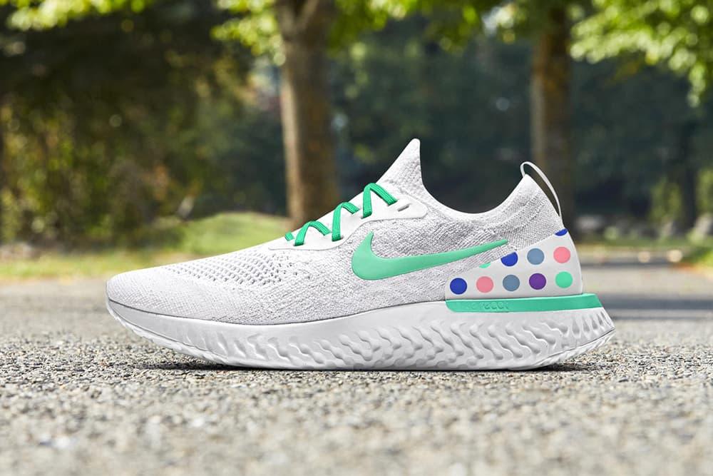 世界5カ国のランクルー&ファッションレーベルを招聘したコラボ Nike Epic React Flyknit が登場 気鋭スケートレーベル〈Patta〉や東京発の「Athlethics Far East」など、思い思いの色柄を踏襲した特別モデルがスタンバイ シューズカスタマイズサービス NIKEiD Nike ナイキ Nike Epic React Flyknit ナイキ エピック リアクト フライニット 5カ国 ランクルー ファッションレーベル Athlethics Far East アスレティック・ファー・イースト Koreantown Run Club コリアンタウン ラン クラブ Private Road Running Club プライベート ロード ランニング クラブ One Crew ワン クルー Patta パタ Track Mafia トラック・マフィア HYPEBEAST ハイプビースト