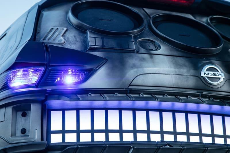 """日産がハン・ソロの宇宙船ミレニアム・ファルコンそっくりにメイクオーバーした特別車を公開 ファンに堪らないファルコン号のディテールを忠実に落とし込んだスペシャルモデル HYPEBEAST Star Wars HYPEBEAST 『ローグ・ワン』、『最後のジェダイ』の際にもタイアッププロモーションを実施し、『スター・ウォーズ』のテーマに沿ったコンセプトカーでファンを驚かせてきた「日産」が、6月29日(金)公開の『ハン・ソロ/スター・ウォーズ・ストーリー』の公開に先駆け、今度はハン・ソロが船長を務める宇宙船ミレニアム・ファルコンに見立てた特別仕様車を公開。北米で販売されているクロスオーバーSUV車、Rogue(ローグ)をベースにエクステリア、インテリアともにハン・ソロの愛機を忠実に再現している。  ファルコン号といえば、""""銀河一速いガラクタの塊""""の異名を持ち、その古びた外観が特徴的であるが、本モデルでも表面にダメージやサビといった汚れ加工を施している。フロントウインドーには船体のコクピット部をかたどったフレームが取り付けられ、ルーフには疑似の4連レーザー砲を設置、リアゲートには噴射口になぞらえた3つの「BOSE」製大型スピーカーが埋め込まれている。また、ホイールのデザインも船体をイメージし、パープルに光るテールランプによってハイパードライブの輝きを表現。内装もコクピット内を複製したかのように、ダッシュボードやセンターコンソールにはレトロなスイッチ類、インストルメントパネルにはスティール製のレバーがあしらわれている。そして、『スター・ウォーズ エピソード4/新たなる希望』でチューバッカが頭をぶつけた幸運のサイコロもしっかりと吊るされている。  残念ながら、本モデルはプロモーション用に製作された車となり一般販売の予定はないが、映画公開まで待ちきれない方は上のフォトギャラリーよりミレニアム・ファルコン車の詳細をチェックしてみよう。  あわせて、『ハン・ソロ/スター・ウォーズ・ストーリー』より、若き日のイケイケなハン・ソロにフォーカスしたアクション満載の新予告編映像もプレイバックしておくべし。"""