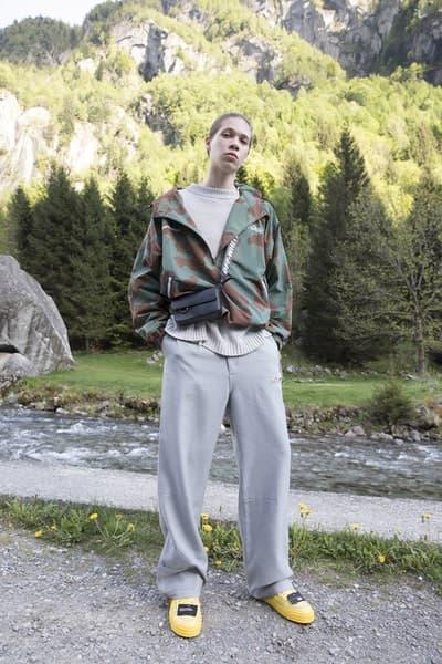 """Off-White™ がアウトドア好きに贈る2019年クルーズコレクション タイダイ、ペイント加工デニム、カモフラ柄のダウンジャケットなど、""""印象派""""をキーワードに芸術的なアイテムとアウトドアウェアを同時提案 Air Jordan 1の新色発売に注目が集まるVirgil Abloh(ヴァージル・アブロー)が、本業の〈Off-White™(オフホワイト)〉から2019年クルーズコレクションのルックブックを公開した。""""Impressionism(印象派)""""と題した今季は、そのタイトルを汲み取り、キーピースに絵画的な要素を追加。大自然は背に撮影されたフォトセットでは、デニムジャケット&パンツやカモフラ柄のプロダクト、開襟シャツなど、Virgilの芸術性を感じさせるプロダクトとともに、再解釈されたマウンテンジャケットやダウンといったアウトドアウェアをクローズアップしている。  その他にもショルダーバッグやウエストポーチ、スニーカー、サンダルなどの新作も顔を覗かせる〈Off-White™〉の2019年クルーズコレクションは、今年後半に〈Off-White™〉の直営店ならびにオンラインストアにデリバリー予定。少し気が早いかもしれないが、上のフォトギャラリーより、今Virgilが〈Off-White™〉から提案したいスタイルをチェックしてみてはいかがだろうか。  あわせて、Andy Warhol(アンディ・ウォーホル)やJasper Johns(ジャスパー・ジョーンズ)が活躍した60年代のソーホーに着想を得た〈Off-White™〉と『The Webster(ザ・ウェブスター)』の限定カプセルもお見逃しなく。"""