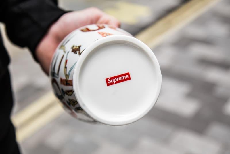 コラボアイテム盛りだくさんとなったロンドンでの Supreme 最新リリース日の様子をフォトレポート シュプリーム HYPEBEAST ハイプビースト