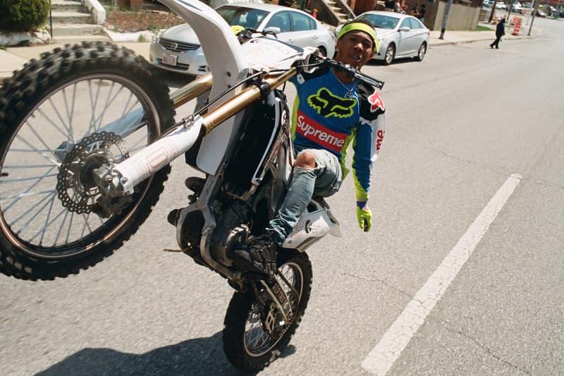 Supreme x Fox Racing のルックブック&アイテム一覧が解禁 一歩たりとも譲らないコテコテのモトクロススタイルを提案