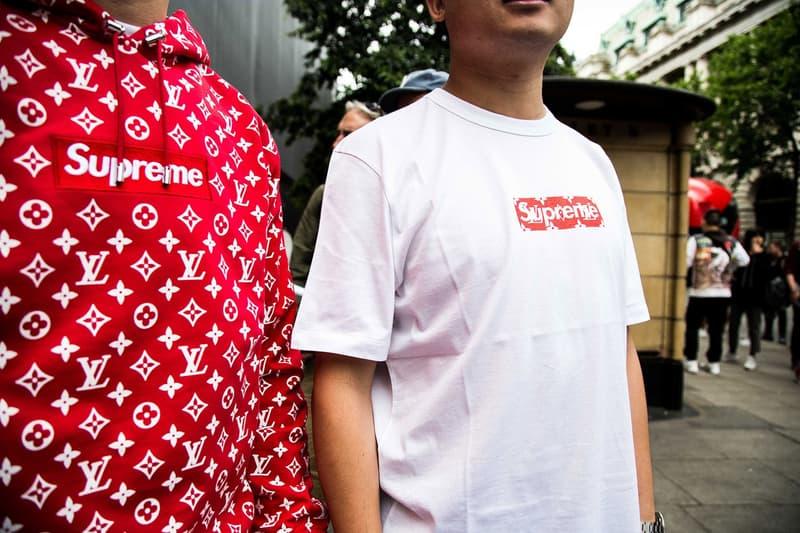 """世界で最も""""フェイク品""""が高い人気を誇るブランドは Supreme であることが判明 シュプリーム HYPBEAST ハイプビースト フェイク 偽物 コピー"""