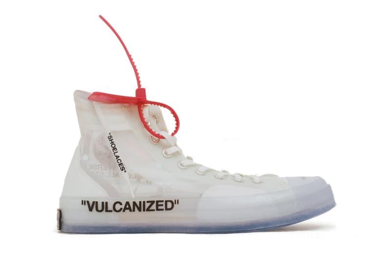 """ヴァージル x Nike による """"The Ten"""" の最終モデル Converse Chuck Taylor '70 のグローバルローンチ日が解禁 virgil abloh アブロー コンバース チャックテイラー o-rusuta-  HYPEBEAST ハイプビースト"""