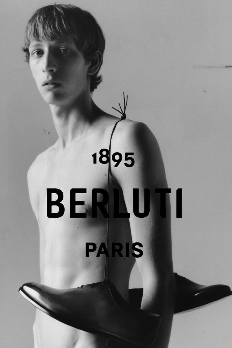 クリス・ヴァン・アッシュ率いる新生 Berluti が最新キャンペーンビジュアルを公開 フランスのデザインユニット「M/M Paris」が設計した新ロゴも発表 M/M Paris 新ロゴ Kim Jones キム・ジョーンズ Virgil Abloh ヴァージル・アブロー Hedi Slimane エディ・スリマン Kris Van Assche クリス・ヴァン・アッシュ Berluti ベルルッティ Jamie Hawkesworth ジェイミー・ホークスワークス HYPEBEAST ハイプビースト
