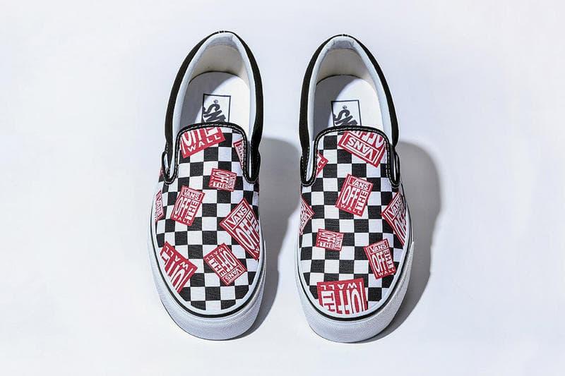 """BILLY'S から Vans の限定 Slip-On """"Off The Wall Check"""" がリリース決定  〈Vans〉を象徴するデザインが一足のSlip-Onに同居したコレクター好みの別注モデル 〈Vans(ヴァンズ)〉と友好な関係を築くスニーカーリテーラー『BILLY'S(ビリーズ)』から、再び購買意欲を駆り立てる別注モデルのリリースが決定した。""""Off The Wall Check""""と題したSlip-Onは、〈Vans〉を象徴するチェッカーボードパターンの上にブランドスローガン「Off The Wall」のフラッグをマルチで配置。『BILLY'S』のユーモア溢れる発想で〈Vans〉のDNAを体現した逸足であり、ヴィンテージになっても価値が付きそうなデザインだけに、〈Vans〉ファンは是が非でも購入しておきたいのではないだろうか。  Slip-On """"Off The Wall Check""""は、6月16日(土)午前0時より『BILLY'S』のオンラインで限定販売予定。価格は6,000円(税抜)。  ちなみに、先日リリースを迎えた刺繍とサテン素材がアクセントをプラスする〈Vans〉の""""Satin Patchwork""""パックはもうチェック済み?"""