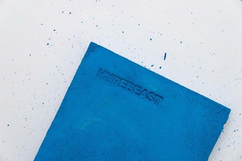ブルー コンクリートで包み込んだ特別な HYPEBEAST Magazine Issue 21 が50部限定で発売決定 ハイプビースト 雑誌 マガジン