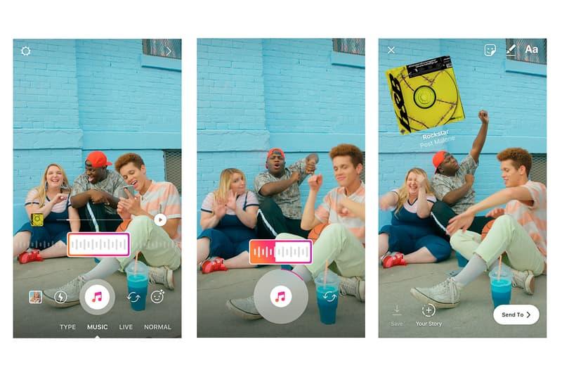 Instagram がストーリーズ機能に好きな音楽を載せられるBGM機能を追加 インスタグラム HYPEBEAST ハイプビースト