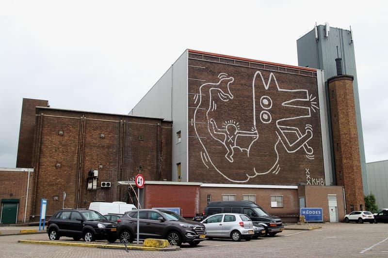 アムステルダムに描かれたキース・ヘリングによる幻の壁画が30年以上の時を経て再公開  Keith Haring HYPEBEAST ハイプビースト