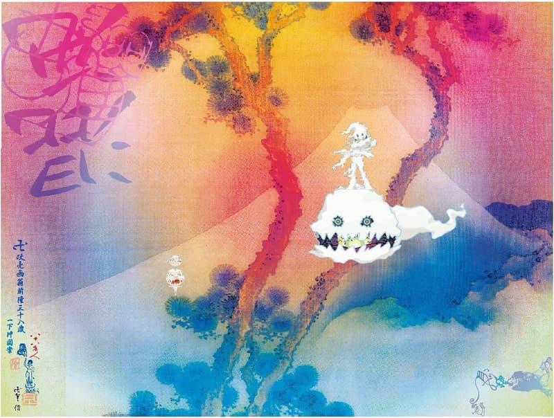 Kanye West と Kid Cudi によるコラボアルバム『Kids See Ghosts』のジャケットデザインが解禁 カニエ・ウエスト キッド・カディ