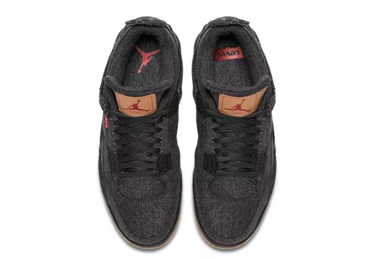 "Levi's® x Air Jordan 4 ""Black"" のリリース情報が SNKRS 上に登場 争奪戦必至のコラボフットウェアを手軽にゲットできるチャンスが到来 ブラック ホワイト Levi's® リーバイス Jordan Brand ジョーダン ブランド Nike ナイキ キュレーション型 Nike+ SNKRS Air Jordan 4 NRG BG 29,160円 23,760円 HYPEBEAST ハイプビースト"