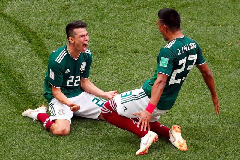 """歴史的な勝利を挙げたメキシコで""""人為的な地震""""を観測 発生源は若きストライカーの決勝点に喜ぶサポーターたちの群衆 2018 FIFAワールドカップロシア ドイツ PSVアイントホーフェン Hirving Lozano イルビング・ロサーノ SIMMSA HYPEBEAST ハイプビースト"""