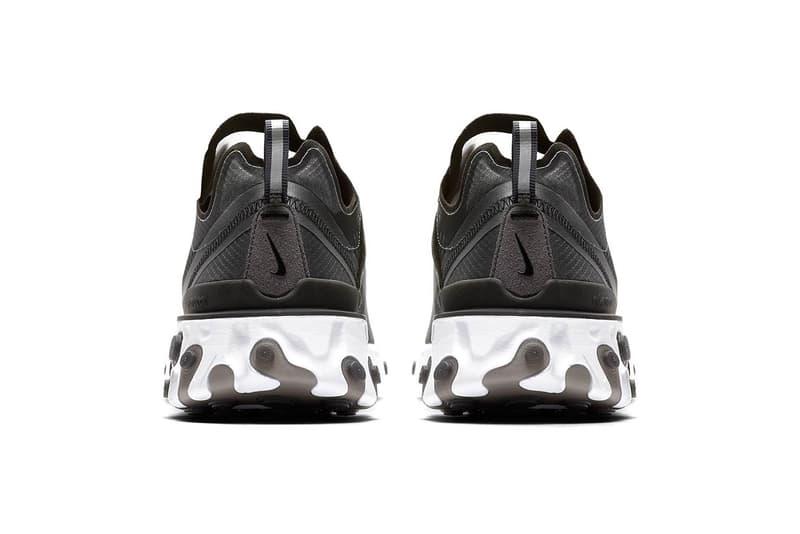 """話題性抜群の新作 Nike React Element 87 の公式ビジュアルが登場 半透明素材のアッパーと歪なソールユニットを融合させた注目作が遂にドロップ UNDERCOVER アンダーカバー 2018年秋冬コレクション Nike React Element 87 ナイキ リアクト エレメント 87 Nike ナイキ 公式ビジュアル NIKE.COM Reactフォーム 半透明 160ドル 約17,598円 PlayStation Air Force 1 Low Air Max 95 """"Juventus"""" HYPEBEAST ハイプビースト"""