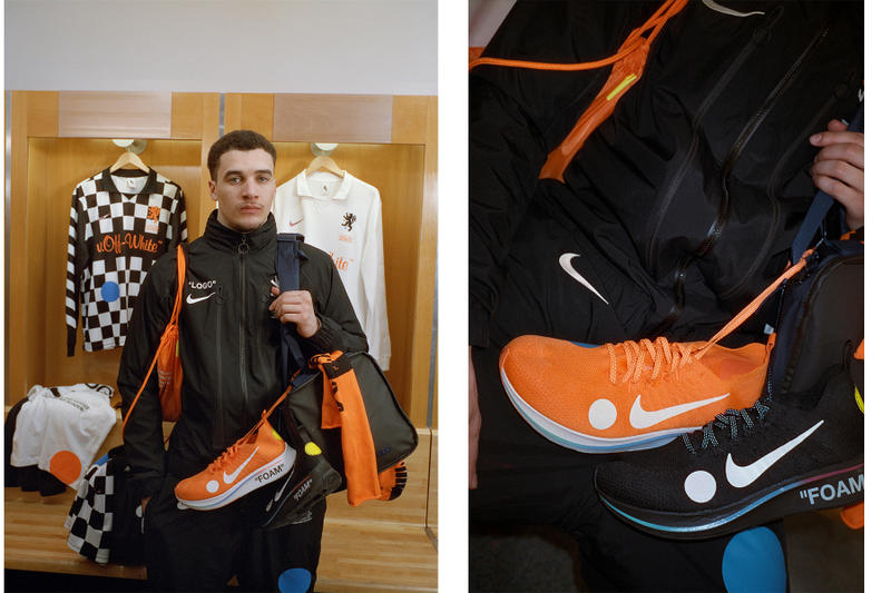 Off-White™ x Nike によるフットボールコレクションの公式ビジュアル&国内発売情報が解禁 オフホワイト ナイキ HYPEBEAST ハイプビースト