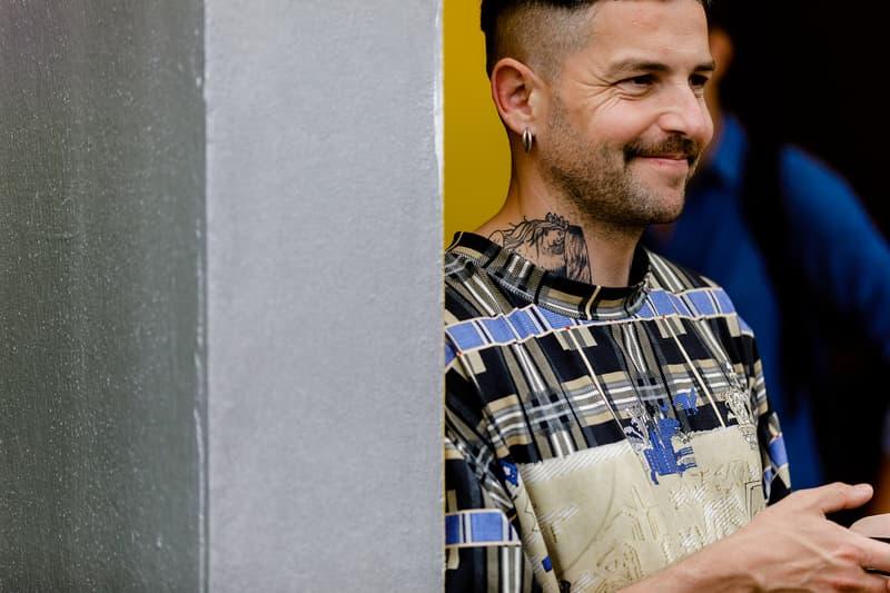 Streetsnaps:Pitti Uomo 94 Spring/Summer 2019 古典的なスーチングスタイルが激減し、ストリートやスポーツなどトレンド要素を加味したフィレンツェヘッズたちが出現 Pitti Uomo 第94回ピッティ・ウォモ HYPEBEAST スナップ隊 Ermenegildo Zegna エルメネジルド・ゼニア Boglioli ボリオリ Palm Angeles パーム・エンジェルス Heron Preston ヘロン プレストン Balenciaga バレンシアガ Supreme シュプリーム Rawlings ローリングス キャッチャーマスク adidas Originals by Alexander Wang アディダス オリジナルス バイ アレキサンダー・ワン バスケットボール ハイプビースト
