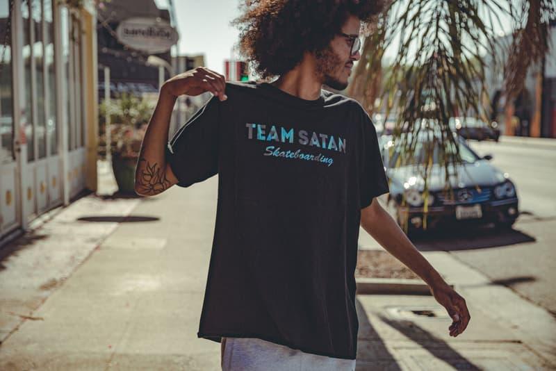 """ストリートで注目度急上昇中の """"TEAM SATAN 666"""" アパレルが遂に日本本格上陸  チームサタン"""