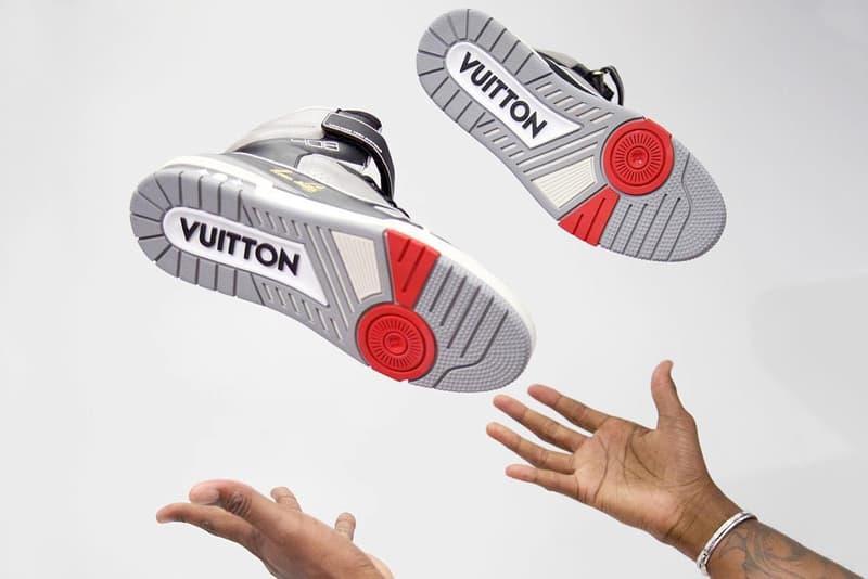 ヴァージル・アブローが Louis Vuitton 2019年春夏の新作フットウェアを公開 AJ4とAF1を融合させたバスケットシューズ風の1足に加え、豪華絢爛なサングラスが映る画像も投稿 Virgil Abloh ヴァージル・アブロー Louis Vuitton ルイ・ヴィトン 2019年春夏メンズコレクション Mathias Patillon マティアス・パティロン Air Jordan 4 Air Force 1 408 モノグラム Instagram HYPEBEAST ハイプビースト