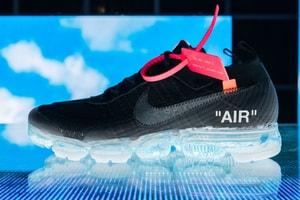 Off-White™ x Nike のコラボ Air VaporMax が日本の SNKRS でゲリラリストック