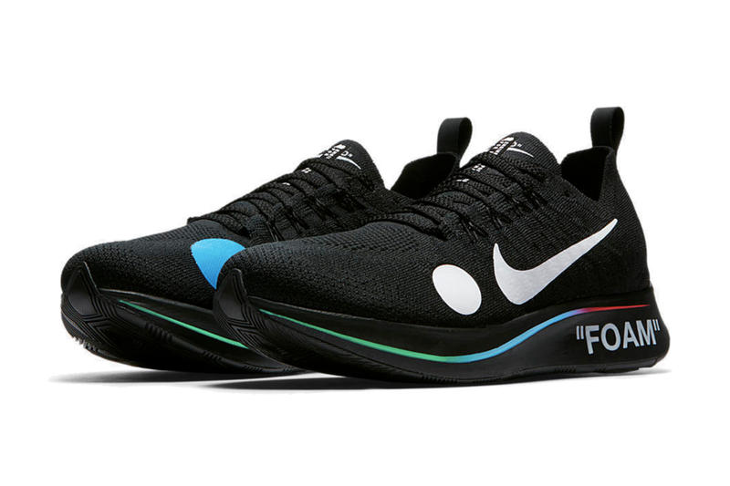 Off-White™ x Nike Zoom Fly Mercurial Flyknit の詳細情報が SNKRS 上に登場