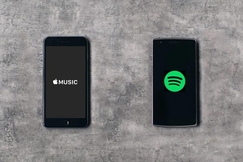 アップルミュージック スポティファイ Apple Music のアメリカ国内会員数が Spotify をついに上回る HYPEBEAST ハイプビースト